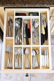 how to organize kitchen drawers diy make your own custom drawer organizer diy kitchen drawer