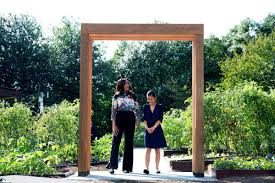 michelle obama u0027s white house kitchen garden gets uva led facelift