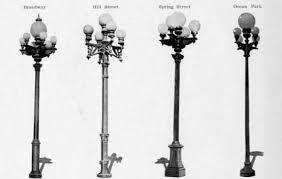 used aluminum light pole for sale antique street lights