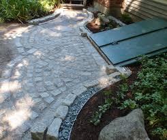 cobblestone u0026 old chester flagging walkway patio runnersarah
