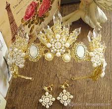n 2017 the new dg baroque crown bridal ornaments sub golden