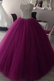 graduation dresses rosy purple tulle sequins sweetheart gown dresses graduation
