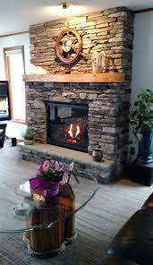 cultured stone fireplace fronts doors heat gas black enamel