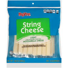 carbs in light string cheese hy vee light string cheese mozzarella 24 count hy vee aisles