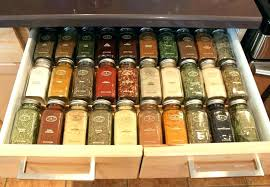 kitchen spice organization ideas drawer spice organizer in drawer spice organizer easy kitchen