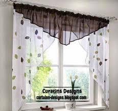 Designs For Kitchen by Kitchen Curtain Design