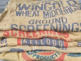 burlap bags for sale vintage burlap bags feed and grain sacks