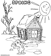 spring coloring pages coloring pages to download and print