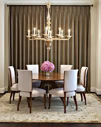 Dining Room Drapes Endearing Design Ideas Using Oval White Free Standing Bathtubs And