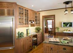 Craftsman Kitchen Cabinets Traditional Light Wood Kitchen Cabinets 05 Crown Point Com