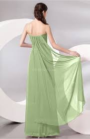 sage green prom dress plain sleeveless zip up chiffon floor
