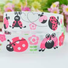 ladybug ribbon pink ladybug ribbon promotion shop for promotional pink ladybug