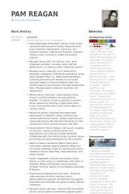 librarian resume sles visualcv resume sles database