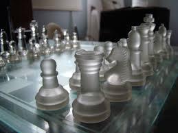 glass chess set by darksealstudios on deviantart