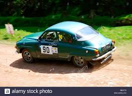 classic saab saab v4 rally car stock photo royalty free image 24005968 alamy