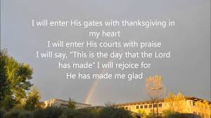 i will enter his gates p35