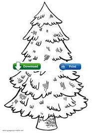 100 christmas tree coloring pictures kindergarten christmas