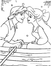 the little mermaid coloring pages printable 301456