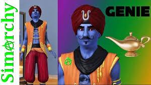 Genie Halloween Costume Sims 3 Cas Create Sim Evil Genie Halloween Costume Slow