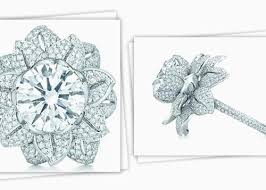 tiffany flower rings images Luxury tiffany flower engagement ring wedding rings jpg
