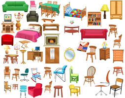 all free clipart a variety of furniture clip free vector in encapsulated
