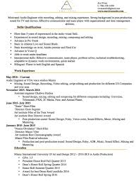 best resume layout 2013 movies resume reel services