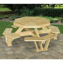 Interesting Octagon Picnic Tables Plans And 7 Best Home by 24 Best Amish Picnic Tables Images On Pinterest Picnics