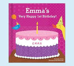 happy birthday book pink my happy birthday personalized book pottery barn kids
