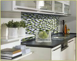 Sample Aluminum Mosaic Tile Peel U Stick Kitchen Backsplash - Backsplash tile peel and stick