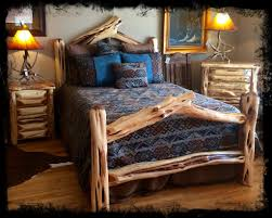 Log Bed Pictures by Log Beds Cedar Furniture Queen Ranch House Bed U2013 Log Beds 4 U