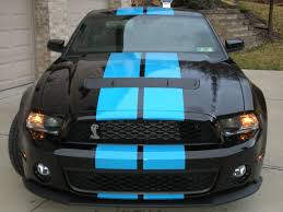 Blue Mustang Black Stripes New Black U0026 Blue The Mustang Source Ford Mustang Forums