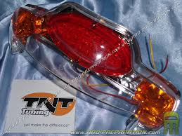lexus with yamaha engine rear light for mbk booster spirit and yamaha bw u0027s 99 to 2004 tnt