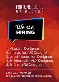 User Experience Designer Resume Fortune Cookie Ux Design Linkedin