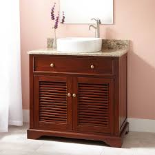 beautiful vessel sink vanity signature hardware