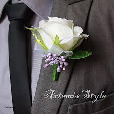 wedding flowers groom vases design lapel pin vase luxury deer pearl flowers wedding