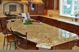 brown chery kitchen l shaped layout with island of awesome wooden