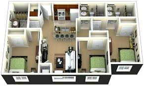House Plans And Designs For 3 Bedrooms Small 3 Bedroom House Sq Ft House Plans 3 Bedroom Search