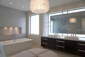 Contemporary Bathroom Vanities by Bathroom Ideas Gold Pendant Modern Bathroom Lighting Above Small