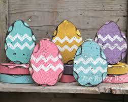 primitive easter eggs easter decor easter eggs set of 5 shabby decor primitive easter