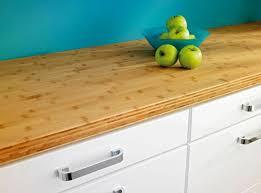 refaire un plan de travail cuisine plan de travail en bois choix et entretien côté maison