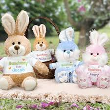 personalized easter bunnies personalized easter bunnies giftsforyounow