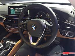 bmw 5 series dashboard new bmw 5 series sedan india launch price inr 49 90 lakhs