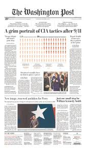 cia u0027deceitful u0027 about interrogations newspaper front pages react