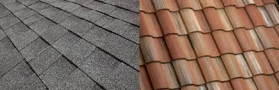 Tile Roofing Materials How Do Asphalt Shingles Compare To Concrete Roof Tile Eagle Roofing