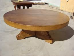 rustic round coffee table wood new lighting rustic round