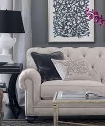 Ethan Allen Chesterfield Sofa Restoration Hardware Kensington Upholstered Sofa Tufted Sofa