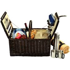 picnic gift basket picnic at ascot surrey picnic basket for 2 w blanket and coffee