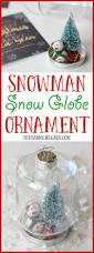 diy snowman snow globe ornament the farm gabs