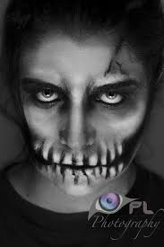 skeleton makeup for guys