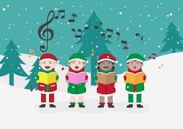 christmas carolers free christmas carolers vector illustration free vector